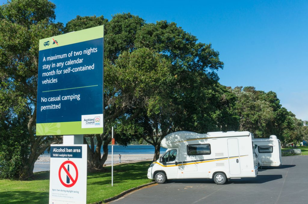 Freedom C&ing Concerns in New Zealand & Freedom Camping Concerns in New Zealand - Travelling K