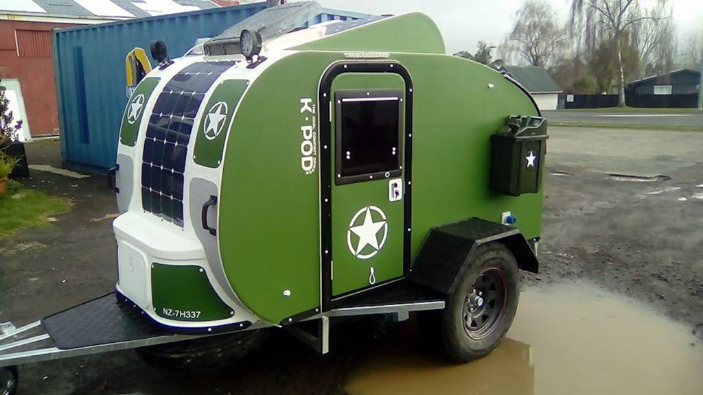 Teardrop Campers Made By K Pod New Zealand Travelling K