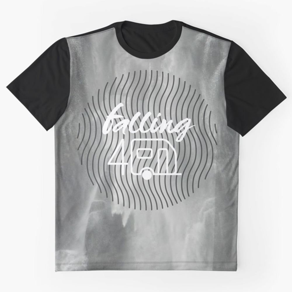 Falling-4-caravan-tshirt